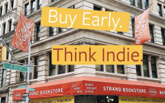 The Strand Book Store is an iconic New York City establishment, but has found itself struggling to survive during the pandemic. When the store's owner, Nancy Bass Wyden, issued a call for help, readers showed up in droves, spurring the viral movement #SaveTheStrand. Photo courtesy of  @strandbookstore.