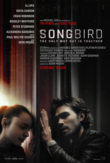 The upcoming release of 'Songbird' is proof of Hollywood's lack of sensitivity when it comes to issues affecting real people. The plot is tacky and borderline offensive, creating a film no one should watch. Photo courtesy of STXfilms