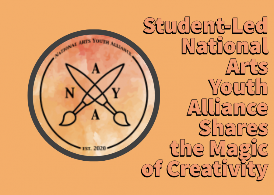 National Arts Youth Alliance is a nonprofit led by Westwood students that aims to bring art supplies and more to children that may not have access to them. Photo courtesy of the National Arts Youth Alliance, graphic courtesy of Hannah Ashtari