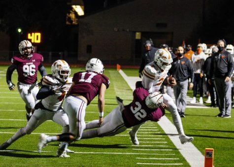 Varsity Football Closes Out Season with 70-41 Loss vs. Round Rock