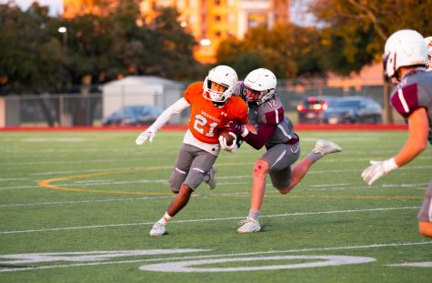 JV Football Slayed by Round Rock Dragons in Final Game of the Season