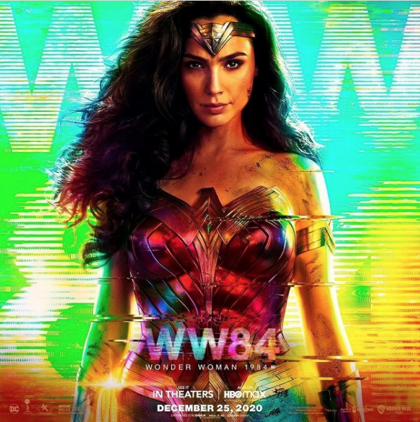 'Wonder Woman 1984' was released on December 25th, after being delayed for almost a year due to the COVID-19 pandemic. Photo courtesy of @wonderwomanfilm.