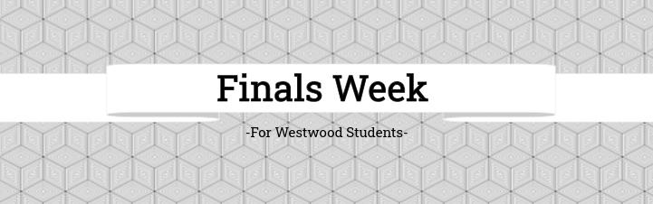 Students Begin Finals This Week