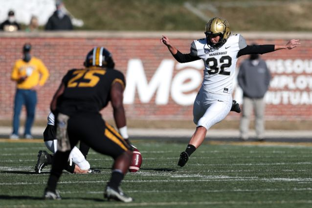 Sarah Fuller Makes History with the Commodores Football Team