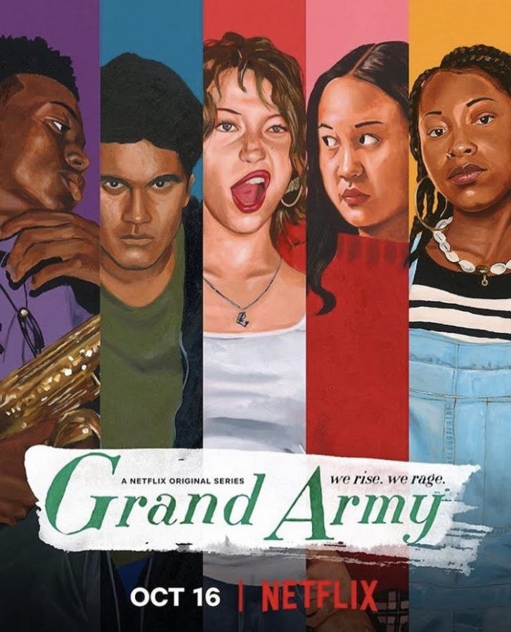 Ever since 'Grand Army's release on Netflx, people can't stop talking about it. With so much packed into one season, it keeps the audience interested up until the very end of the show. Photo courtesy of _grandarmynetflix_