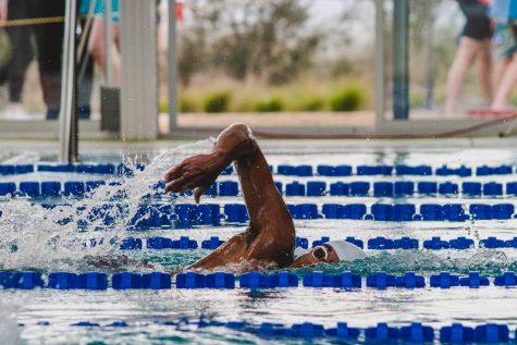 Swim and Dive Teams Star at District Meet