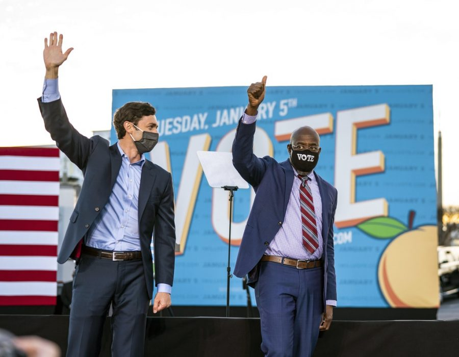 Jon+Ossoff+and+Raphael+Warnock+have+taken+the+two+remaining+seats+in+the+Senate+after+being+selected+in+the+recent+runoff+elections+in+Georgia.+The+Democratic+Party+now+has+control+over+the+entire+legislative+branch+of+the+government.