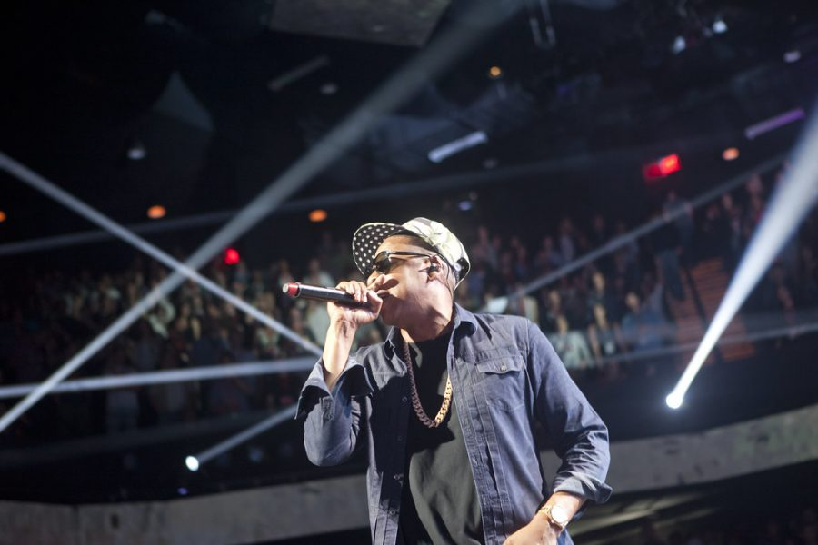 Jay-Z performing at Austin City Limits Music Hall in 2012. Photo courtesy of Kris Krüg.