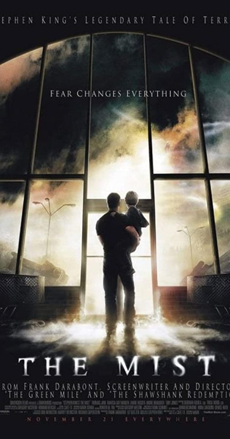 Poster for the film adaptation of 'The Mist'. Photo courtesy of IMDb.