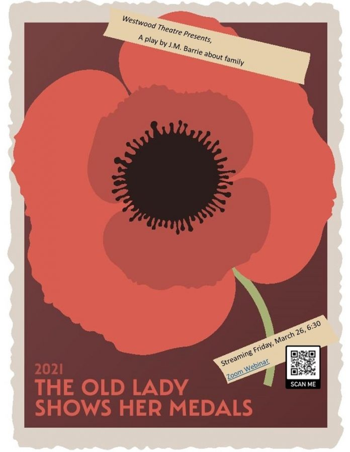 Westwood Theatre put on a stunning production of 'The Old Lady Shows Her Medals' by J.M. Barrie during a pre-recorded showing on Friday, March 26. Photo courtesy of @wwdramaclub