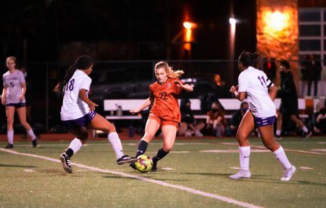 Varsity Girls' Soccer Thumps Cedar Ridge For 5-0 Senior Night Win