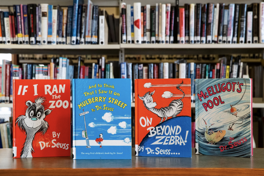 """If I Ran the Zoo,"" ""And to Think That I Saw It on Mulberry Street,"" ""On Beyond Zebra!"" and ""McElligot's Pool"" were among the six Dr. Seuss books that are said to ""portray people in ways that are hurtful and wrong"" according to a statement made by Dr. Seuss Enterprises. Photo courtesy of Christopher Dolan/The Times-Tribune, via Associated Press"