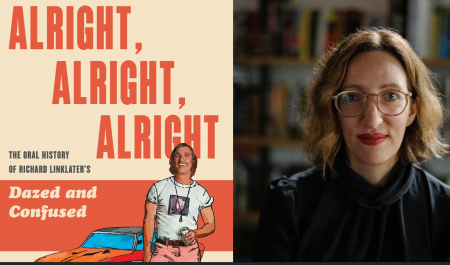 Melissa Maerz wrote the definitive history of Richard Linklater's 1993 film 'Dazed and Confused'. We had a talk with her about writing the book. Jacket design by Caroline Johnson, Jacket illustration by Carolyn Figel, Photo couresy of Keith Bormuth.