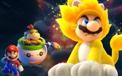 You can transform into Giga Cat Mario in the recently released 'Super Mario 3D World + Bowser's Fury'. Photo courtesy of mynintendonews.com