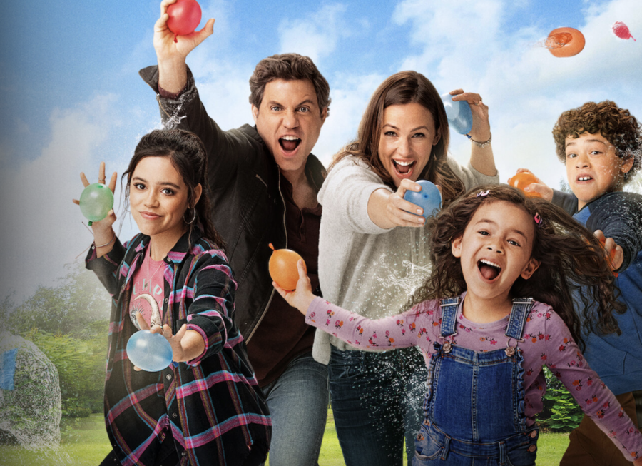 "In this generic Netflix comedy, a family of five agree to a day that only consists of ""yes"", and the parents must consent to whatever the kids demand. Photo courtesy of Netflix.com"