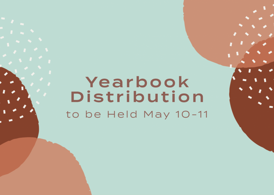 Yearbook Distribution to be Held This Week