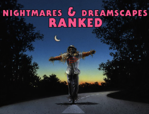 'Nightmares and Dreamscapes' is the true definition of a mixed bag, and today we rank all of the stories contained. Art by Suntup Editions, graphic by Oliver Barnfield.