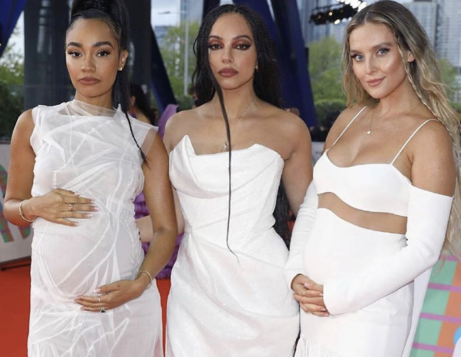 Little Mix takes home the Best British Group Award at the Brits, becoming the first British girl group to do so. Photo courtesy of @littlemix.