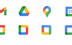 The new Google icons are a colorful mess compared to the cool, heavily stylized look it once was. Photo courtesy of Zach Maynes.