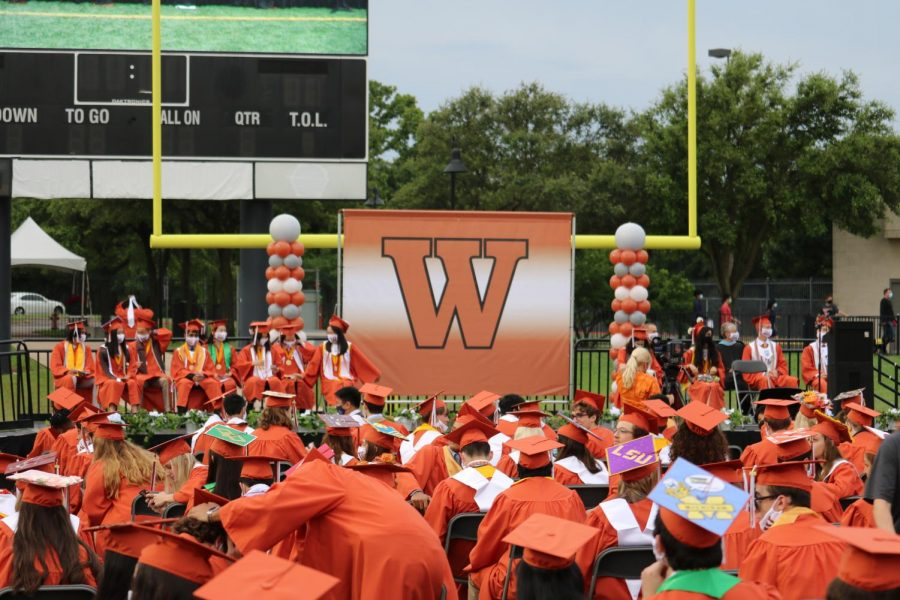 The Class of 2021 celebrated their graduation on Saturday, May 29 at the Kelly Reeves Athletic Center. Due to the petition drafted by Student Council Executive President Hart Black
