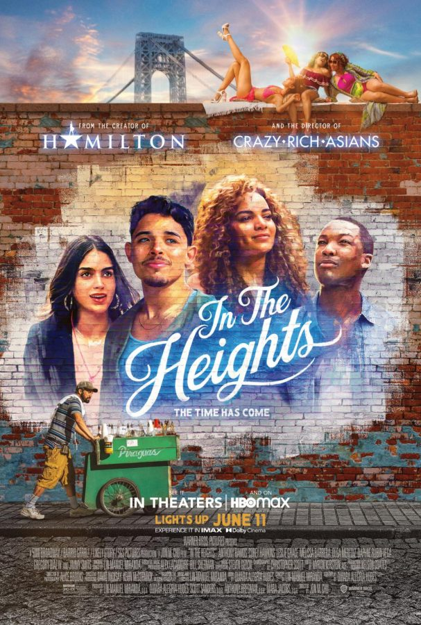 'In the Heights' released on June 9, 2021, epitomizes the notion of the American Dream with glorious and sometimes somber tunes. Photo courtesy of IMDb.com