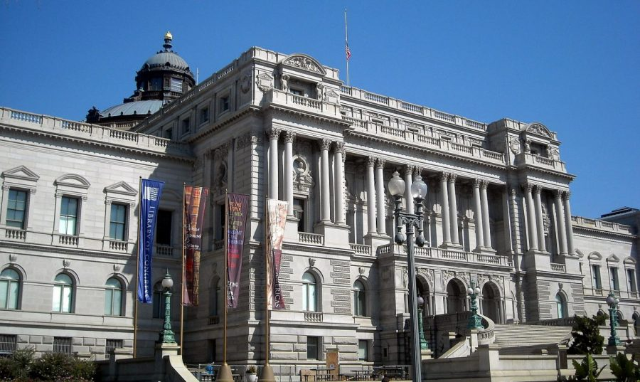 The Library of Congress recieved a bomb threat on Thursday, Aug. 19 from a 49-year-old man inside his truck. Photo courtesy of NCinDC.