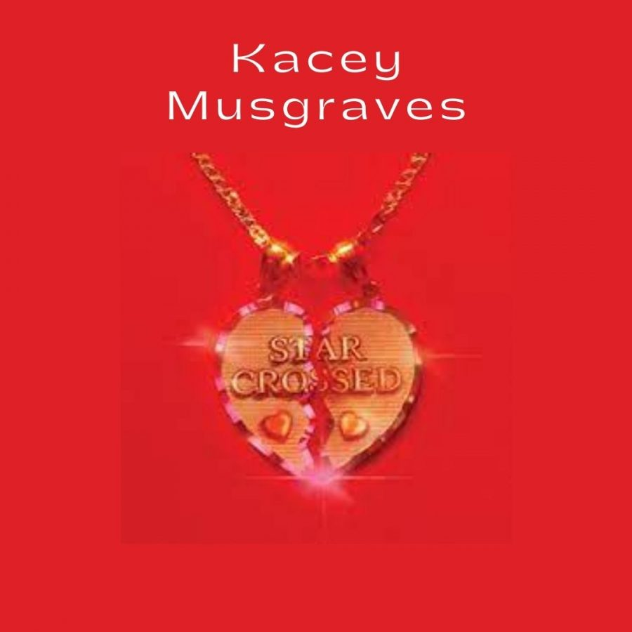 Kacey Musgraves released her latest album star-crossed revolving around the topic of her recent divorce. Photo courtesy of MCA Nashville and Interscope Records. Graphic by Hannah McDonough.
