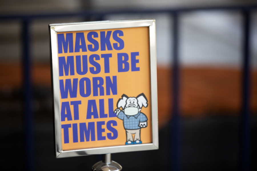 Westwood students need to do a better job at following the Round Rock Independent School Districts mask mandate. Photo courtesy of CSUF Photos.