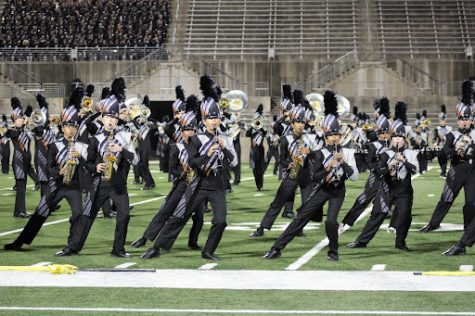Band Prepares for Competitive Season With Festival of Bands Exhibition Event