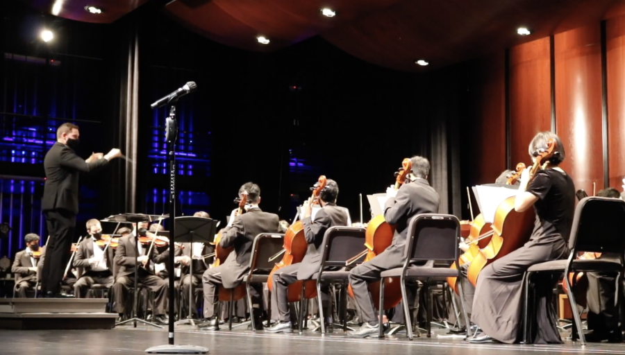 Various Westwood Orchestras performed pieces for their Fall Concert.
