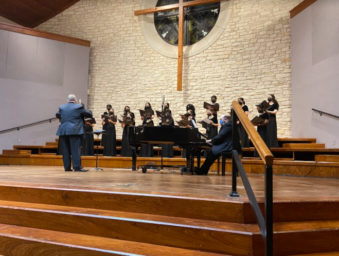 Just like their beautiful sounding name, Innova, this choir sounded amazing. They performed songs such as In Time of Silver Rain by Sarah Quartel, Lineage by Andrea Ramsey, and Let the River Run by Craig Hella Johnson.