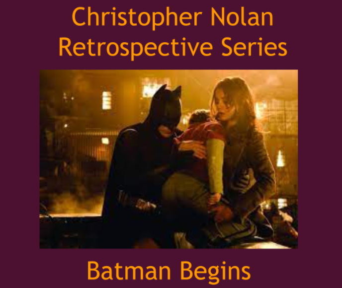 Christian Bale played Bruce Wayne in Christopher Nolan's 2005 film Batman Begins. Batman Begins was Nolan's first superhero movie, although Memento and Following  contained homages to the Bat Prince of Gotham. Graphic by Josh Shippen.