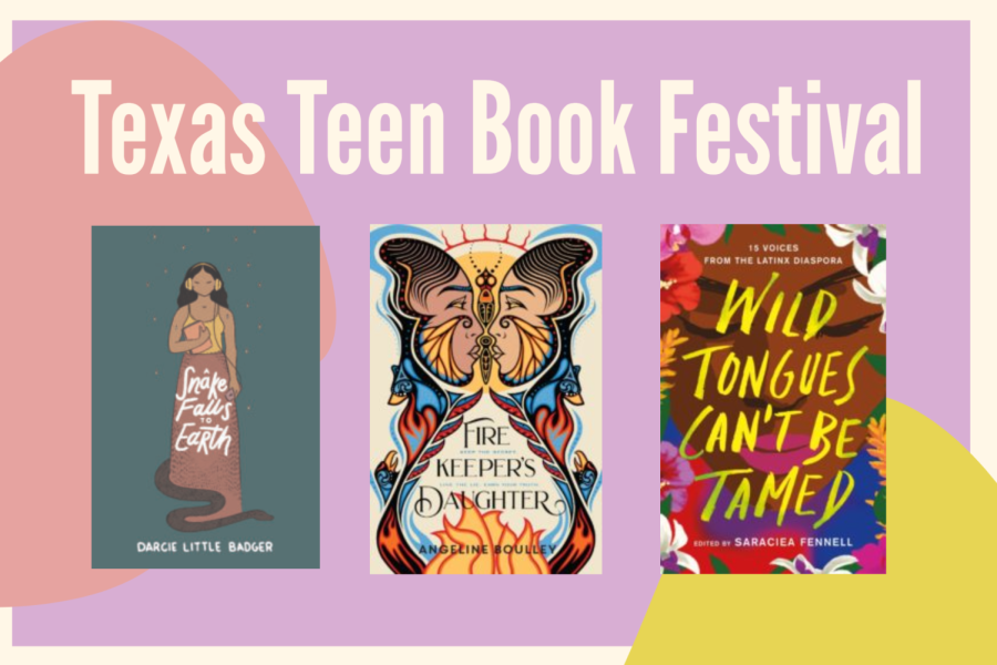 All the books featured in the festival are available for purchase on the Texas Book Festival website. Limited quantities of books with signed and personalized bookplates are also on sale. Graphic by Shreya Selvaraju.