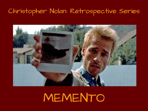 Memento was Christopher Nolan's first breakout movie, and a reunion of The Matrix actors Carrie-Anne Moss and Joe Pantoliano. Graphic by Josh Shippen.